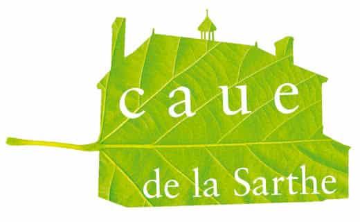 Logo du CAUE de la Sarthe
