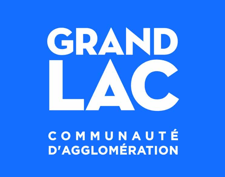Logo de la communauté d'agglomération Grand Lac