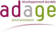 Adage Environnement page d'accueil
