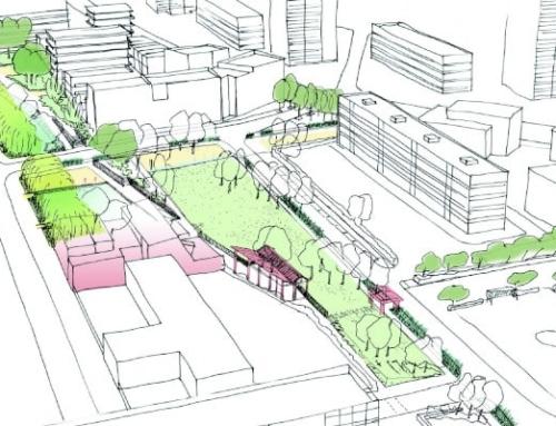 Expertise écologie et adaptation au changement climatique pour la conception d'un espace public à La Courneuve