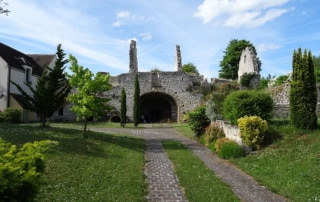 Photo des ruines d'un ancien four à chaux