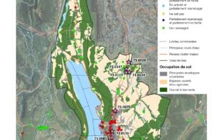 Carte des risques de pollution des sols de Grand Lac Agglomération