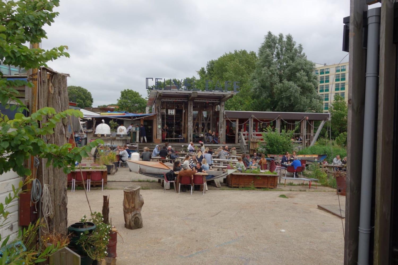Terrasse du café De Ceuvel